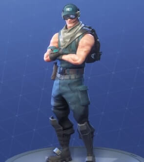 fortnite skins first strike specialist