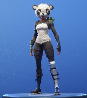 panda team leader fortnite skins