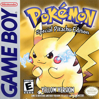 My first real taste of the Pokémon games was the Yellow version, a repackaged edition of the original Red and Blue games.
