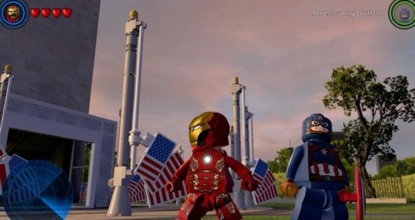 LEGO Marvel Avengers PS4 - ironman