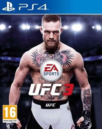 UFC 3 PS4 - front