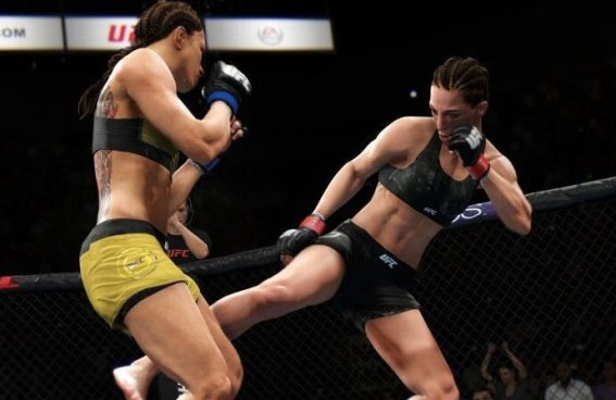 UFC 3 PS4 - game-play-2