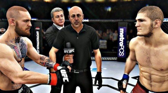 UFC 3 PS4 - game-play