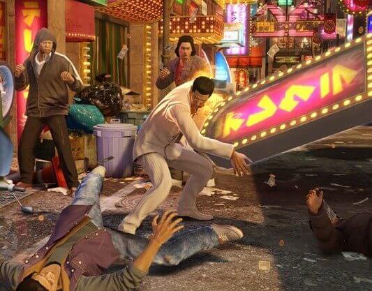 Yakuza 6-The Song of Life-gameplay2