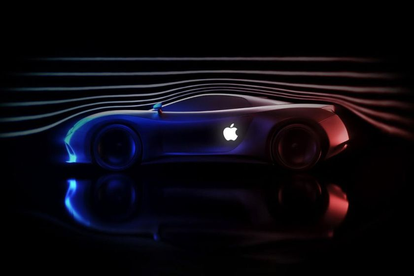 Apple Car mockup