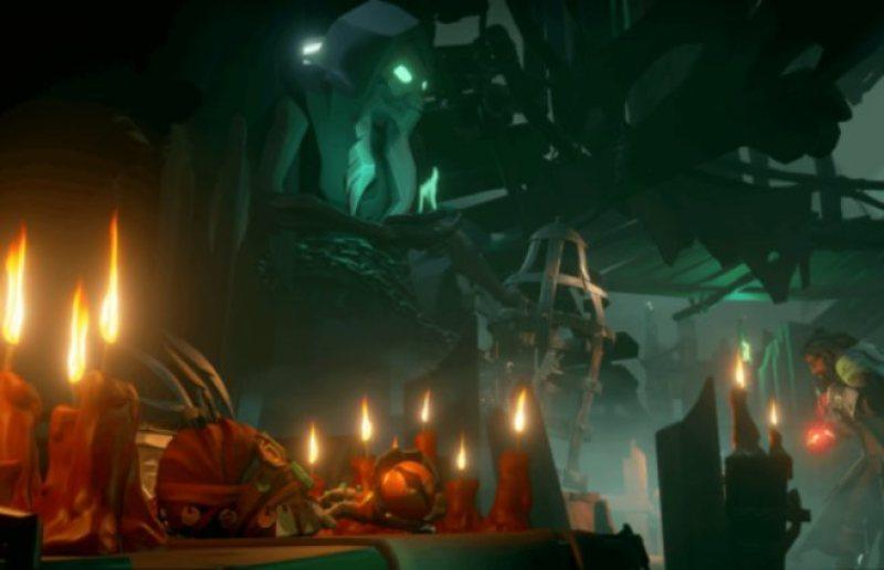 Ritual Skull Sea of Thieves