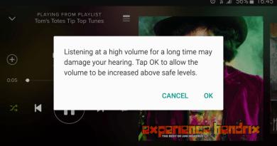 Phone volume