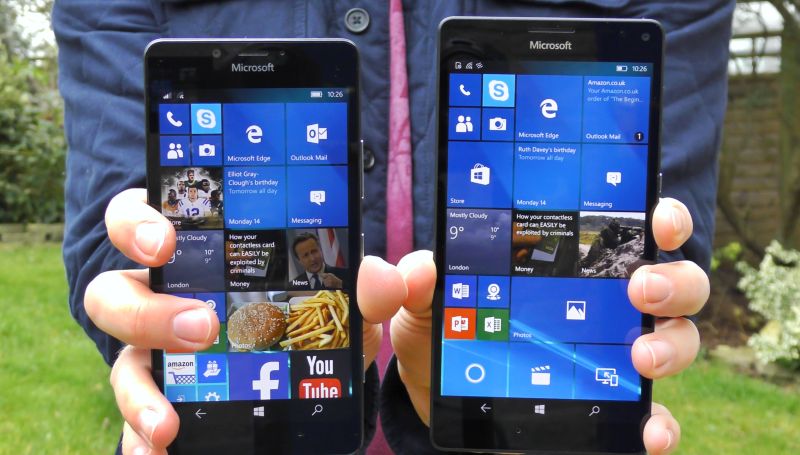 Lumia 950 vs 950 XL Speed Test | Snapdragon 808 vs 810