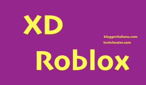What does XD mean in Roblox