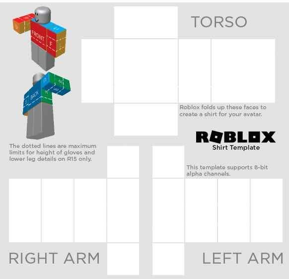 Roblox Shirt template