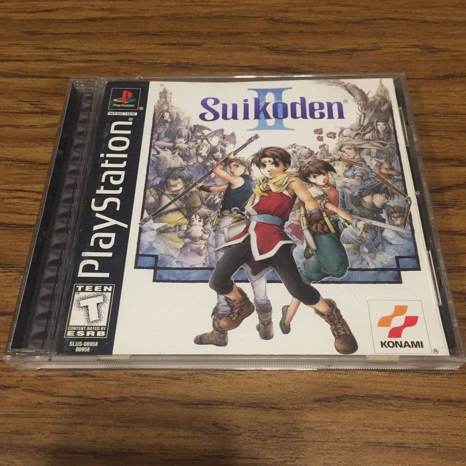 Image result for Suikoden II case