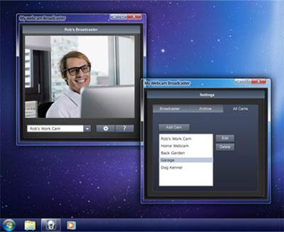 MyWebcam Broadcaster