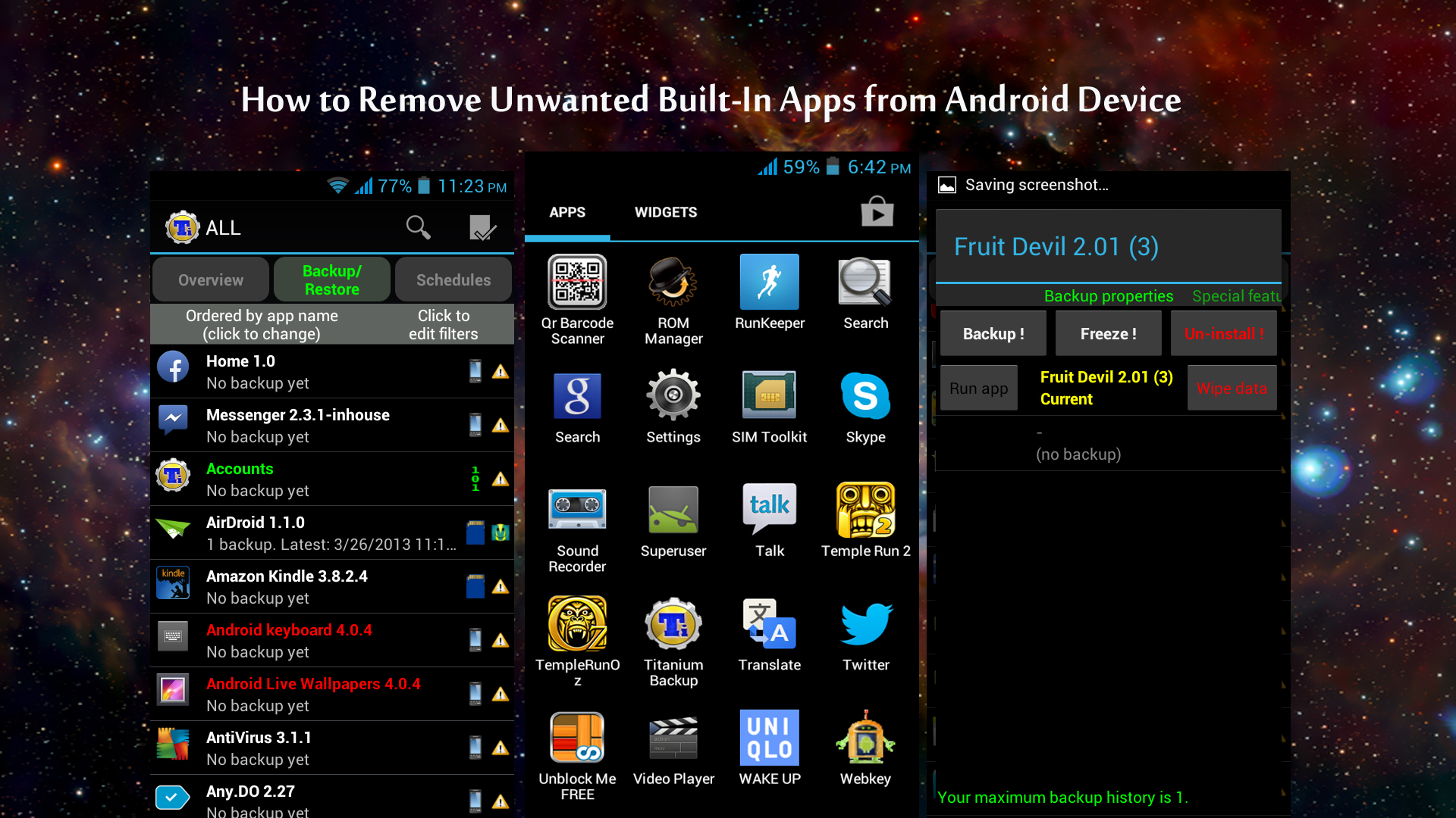 How to Remove Unwanted Built-In Apps from Android Device thetechhacker