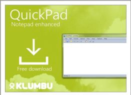QuickPad Is A Best Alternative To Notepad With Additional Options