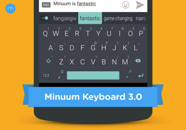 Minuum Keyboard + Smart Emoji