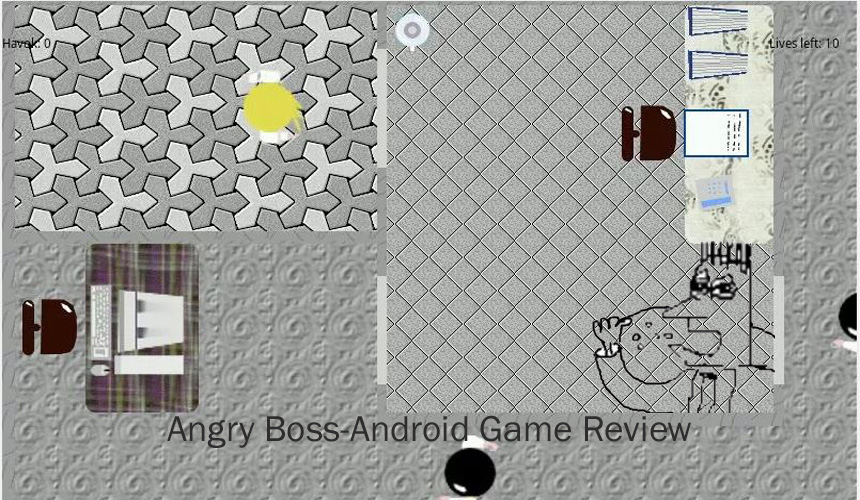 Angry Boss - Android Game Review
