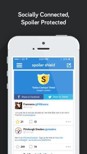 Spoiler Shield Programs