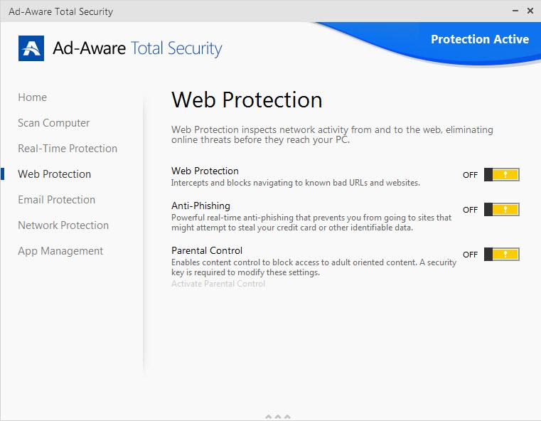 Ad-Aware Web Protection