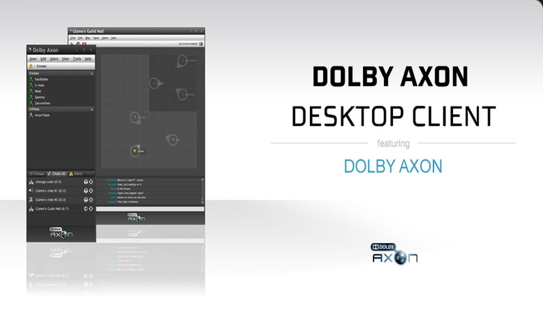 Live The Voice Chat Experience In Gaming With Dolby Axon Voice Chat