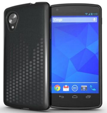 TUDIA Ultra Slim Melody TPU Bumper Protective Case for Google Nexus 5