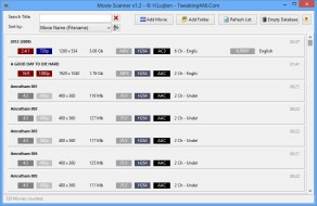 View Metadata For Your Movies Easily With MovieScanner