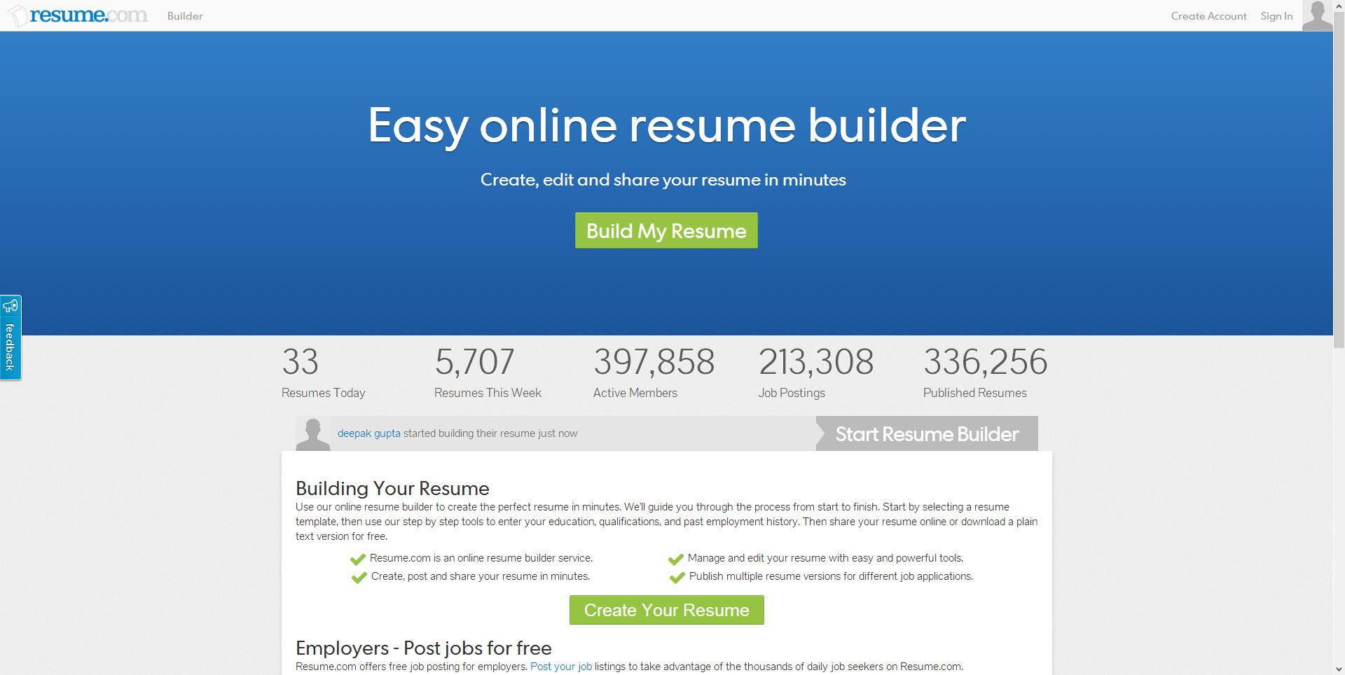 Best websites for resume building for Free resume building websites