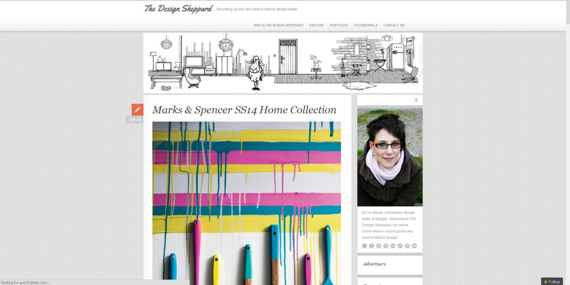 Top 10 interior design blogs list for passionate enthusiasts for Best interior design blogs 2012
