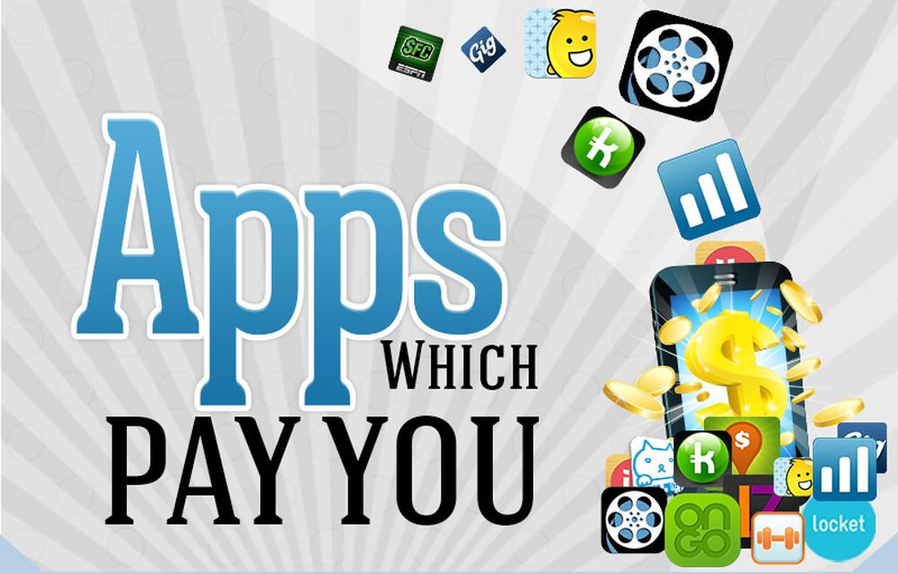 Apps Which Pay You-Best Infograph
