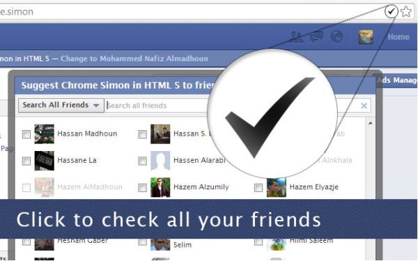 Facebook Invite All