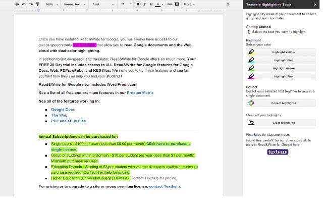 Texthelp Study Skils