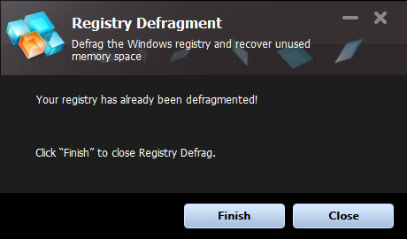 Registry Defragment