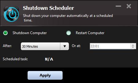 Shutdown Scheduler