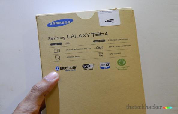 Samsung Galaxy Tab 4 SM-T231Box Shot Back