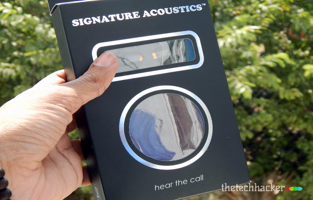 Signature Acoustics O16 Elements Live Metallic Earphones IEM's-Review