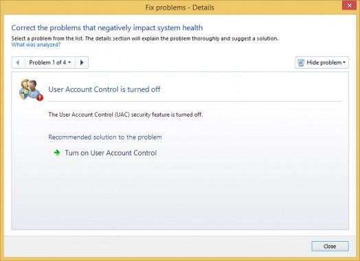 Fix Problems