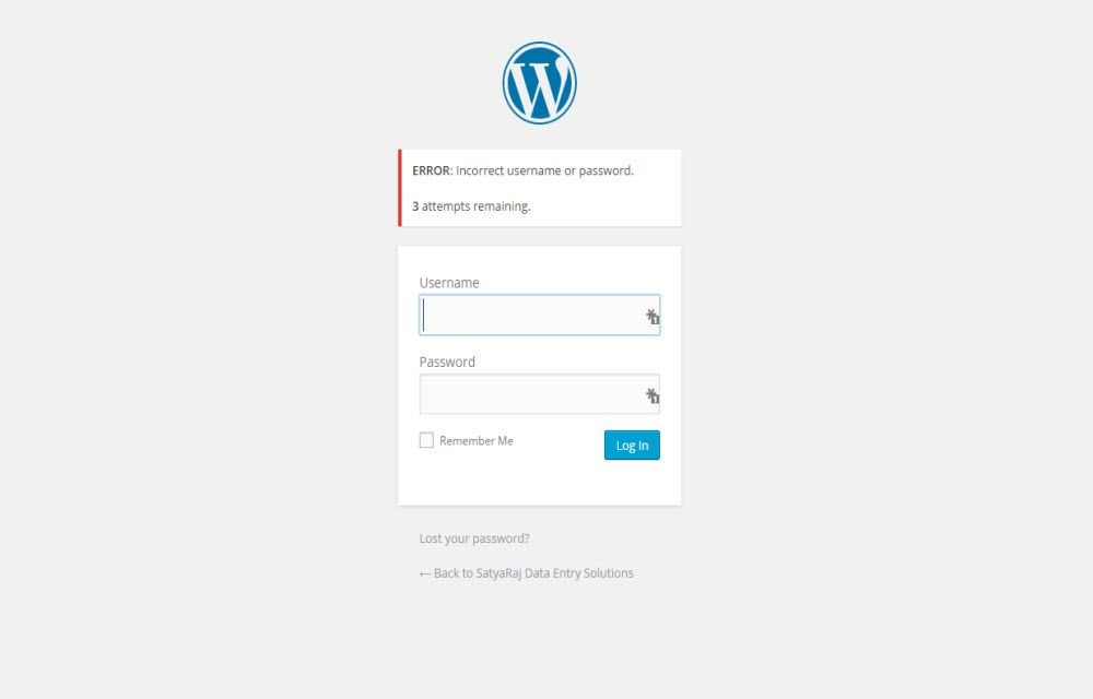 How to Remove Login Page Shake Effect in WordPress