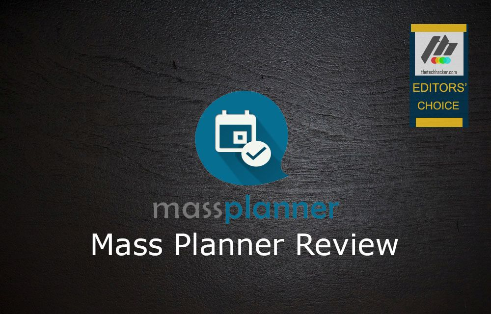 Mass Planner Review