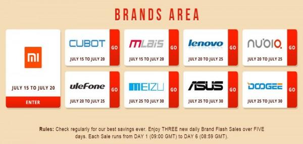 Brands Area