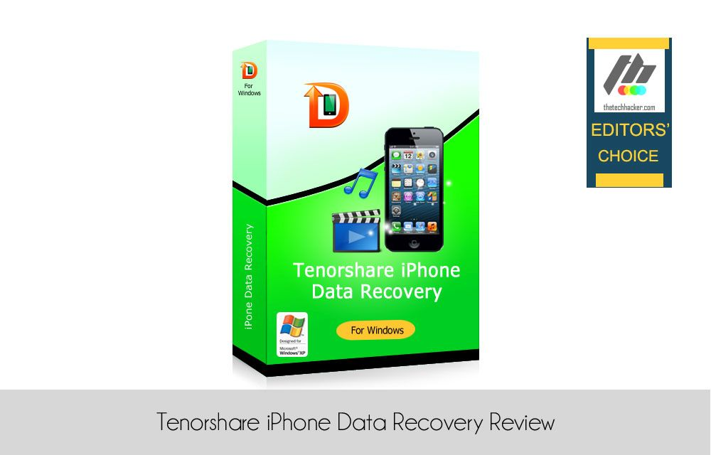 iphone data recovery tenorshare iphone data recovery review 11785