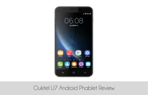 Oukitel U7 Android Phablet Review