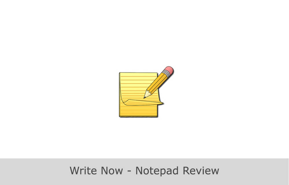 write it now software review