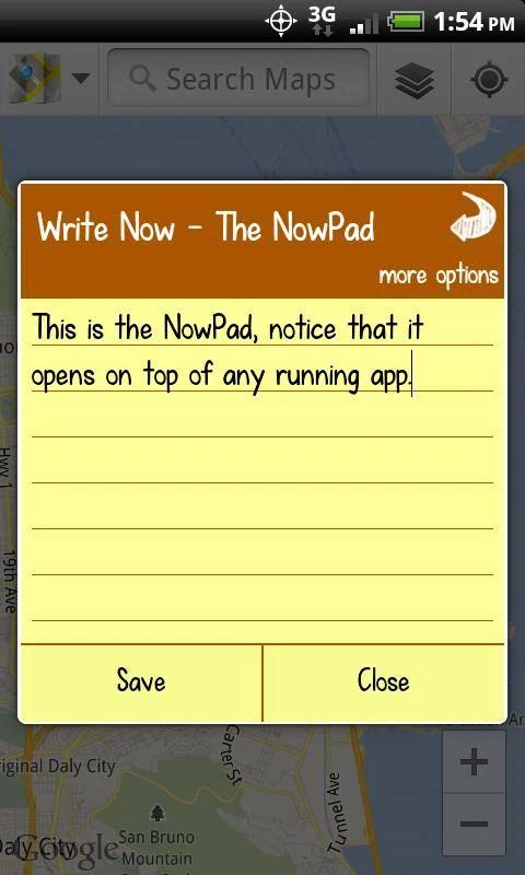 Write Now - Notepad UI