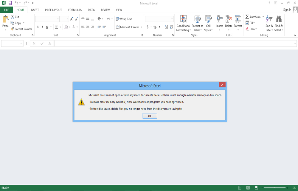 """microsoft excel cannot open or save any more documents  Fix """"Microsoft Excel Cannot Open or Save Anymore Documents Because ..."""