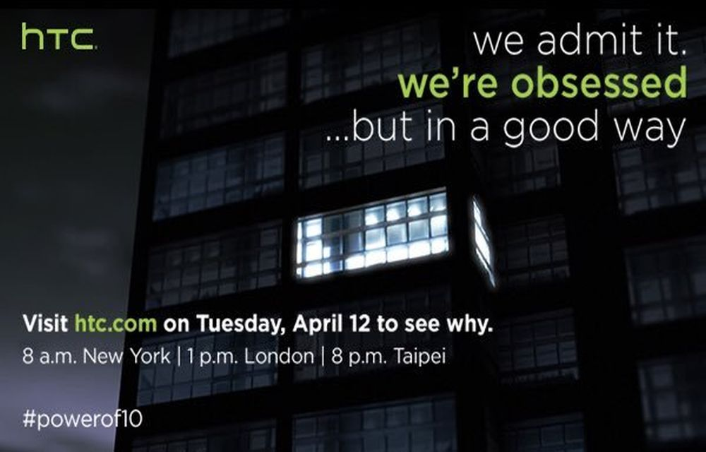 HTC's M10 Virtual Launch on April 12th