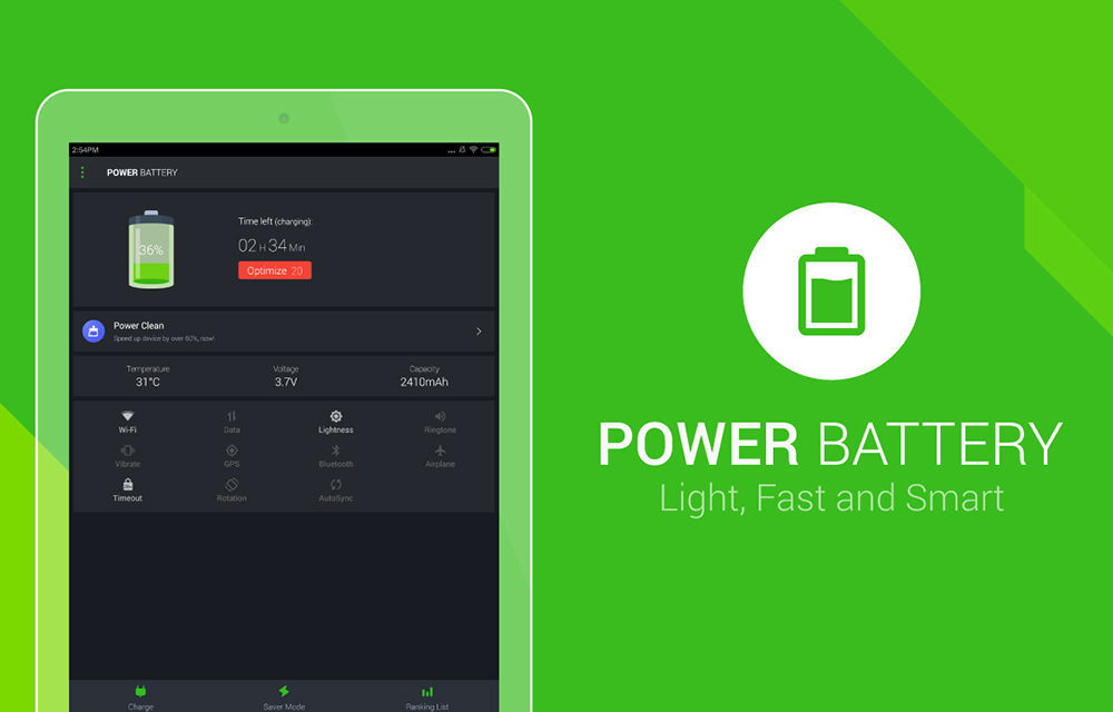 Power Battery - Battery Saver App