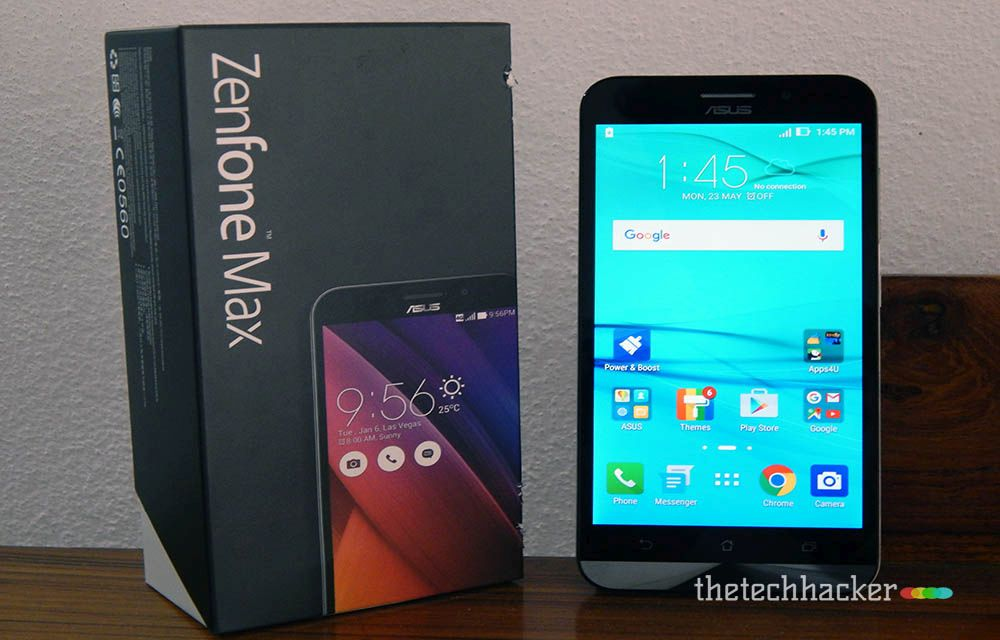 Asus Zenfone Max with Snapdragon 615 Octa Core Processor Review