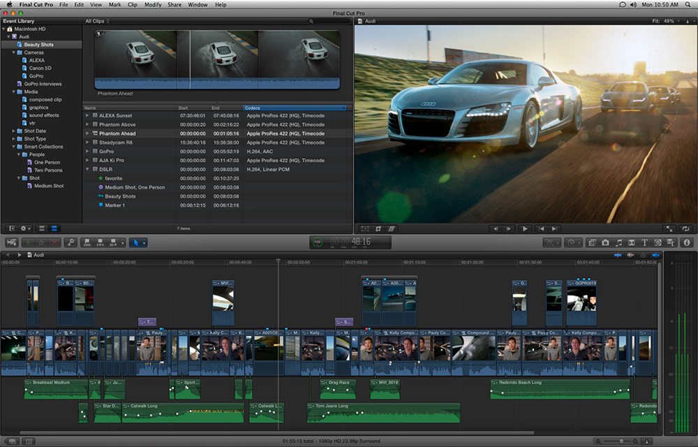 video software editing softwares