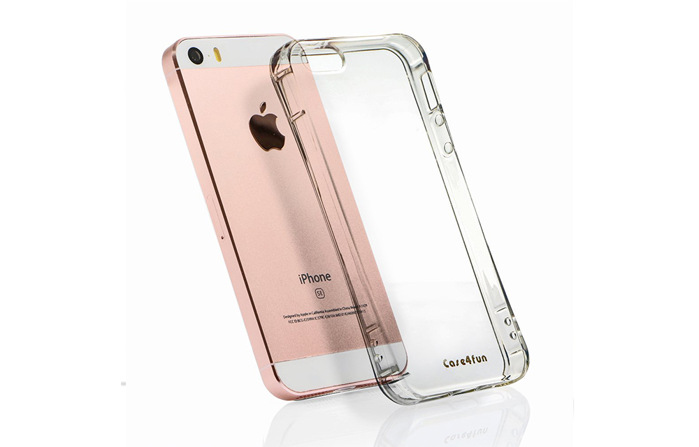Case4fun Soft TPU Shock Absorbing Case for iPhone SE Review-2