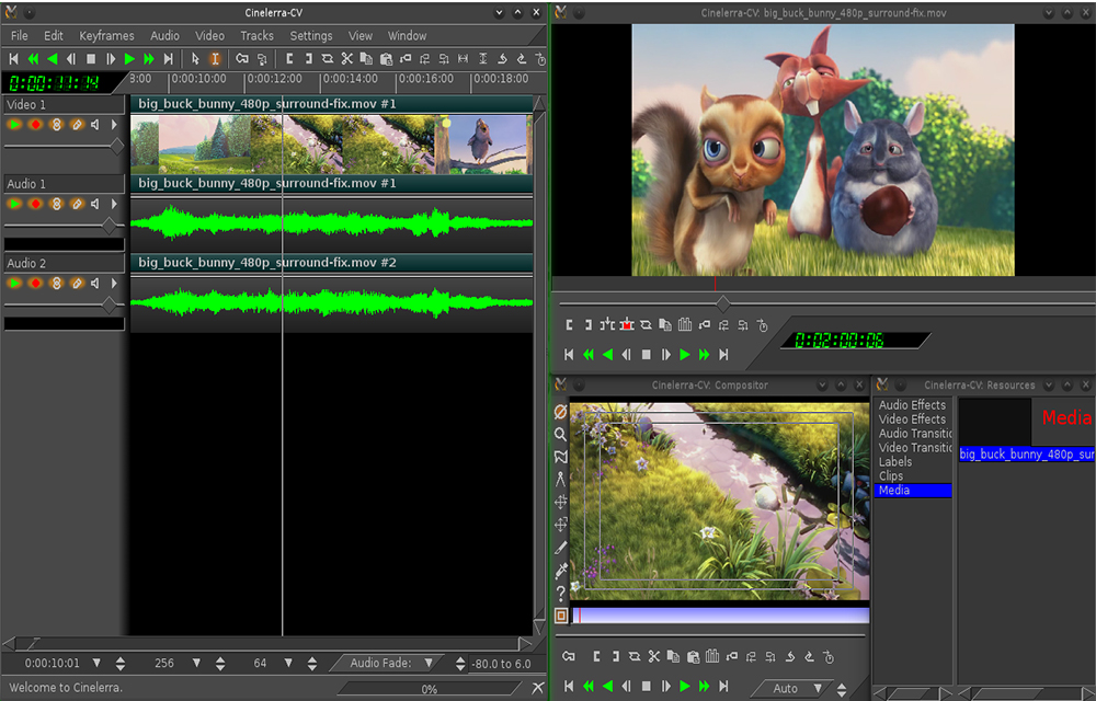 Cinelerra Free Video Editor for Windows and Mac