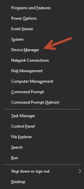 Device Manager From Toolbar